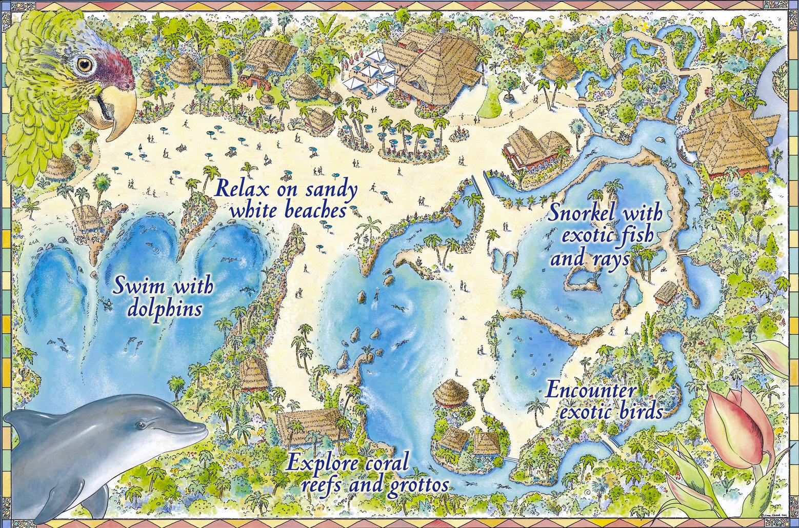 Mapa Parque Hollywood Studios Orlando Cove Orlando Mapa Parque
