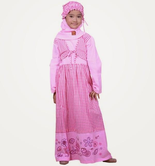 Foto Desain Baju Muslim Anak Wanita