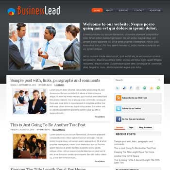 BusinessLead blog template. template image slider blog. magazine blogger template style. wordpress theme to blogger. template business blog template. template business for blogger blog