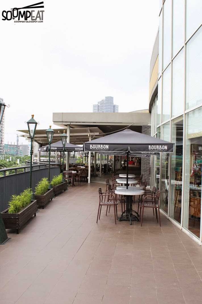 Bourbon eatery coffee mall alam sutera tangerang soompeat outdoor area thecheapjerseys Image collections