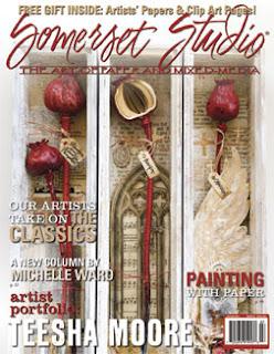 Megan Coyle published in Somerset Studio Magazine