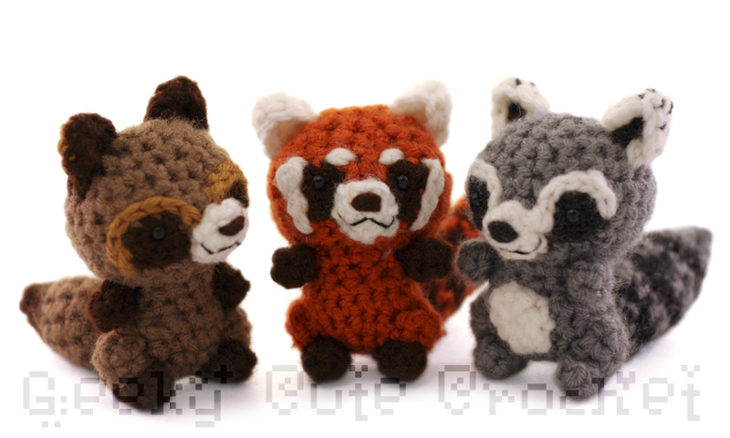 New Amigurumi Animals!