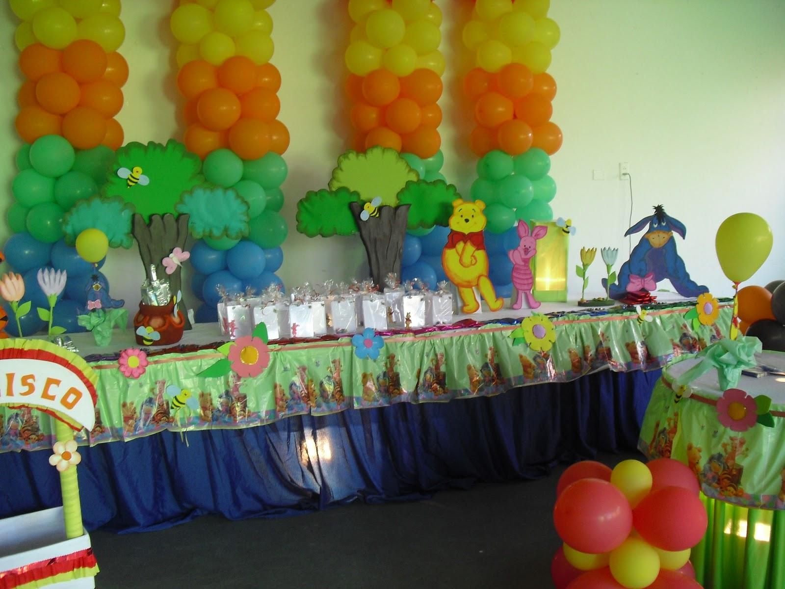 Pin decoraciones winnie pooh sus amigos para fiestas for Decoracion winnie pooh para fiesta infantil