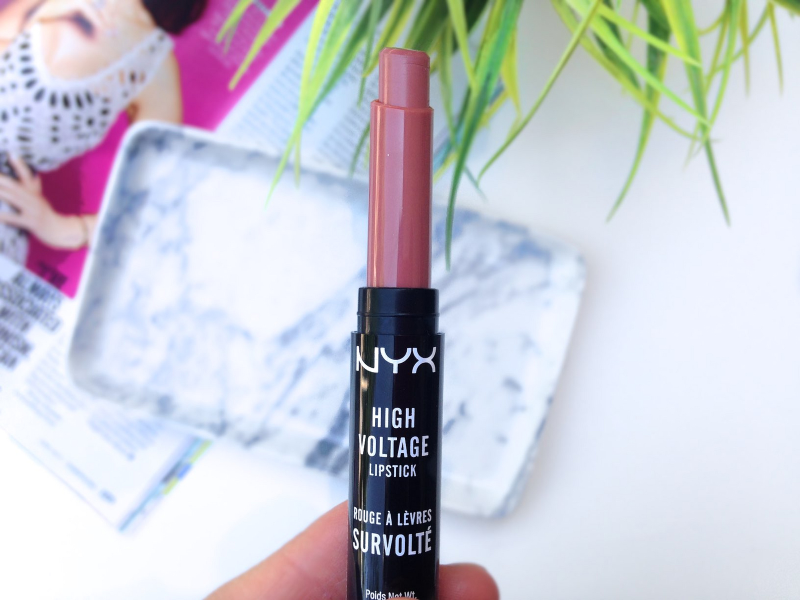 NYX High Voltage Lipstick in Flutter Kiss