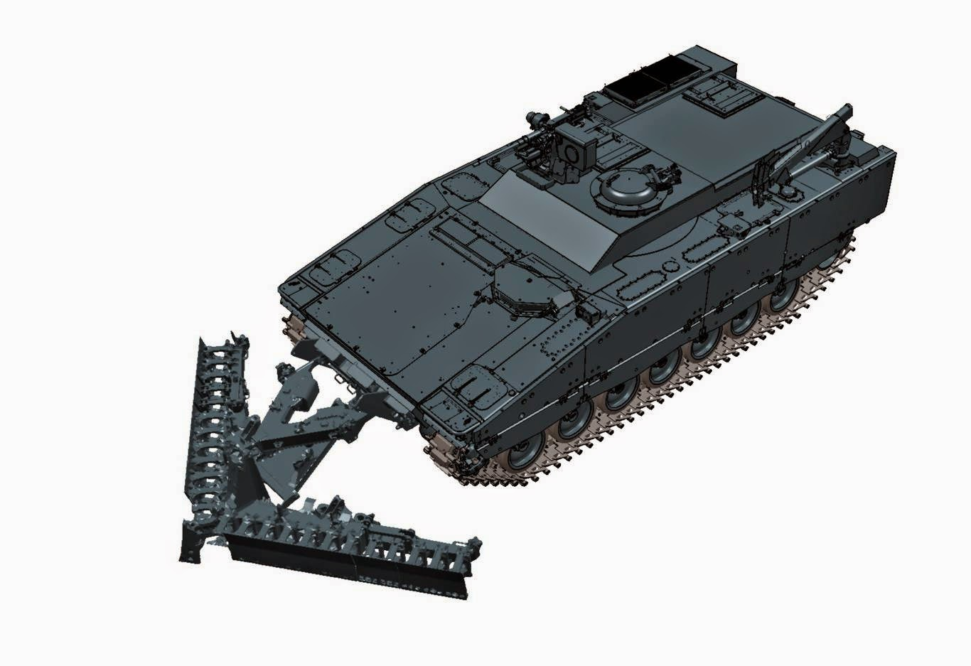 CV90 Combat Engineering Vehicle