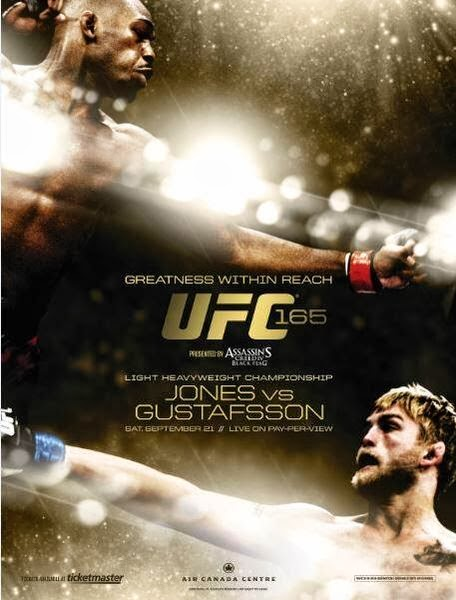 UFC 165 Jones vs Gustafsson HDTV XviD