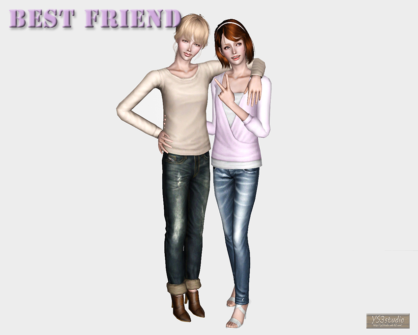 entertainment world: My Sims 3 Blog: Best Friend Poses by ...