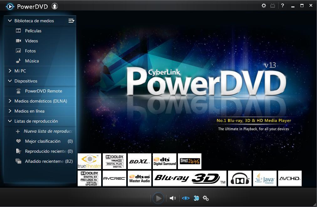 Cyberlink PowerDVD Ultra v.13.0.2720.57 [Español] [Full] Cap5.descargasvip.net