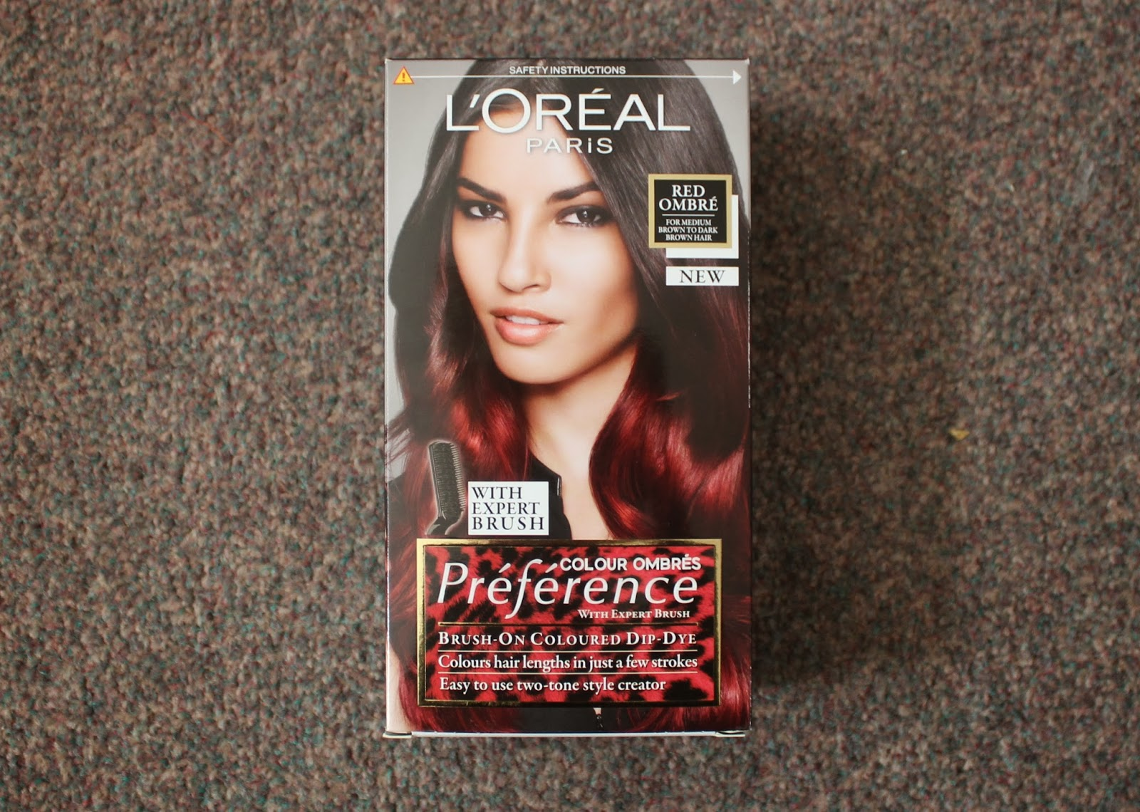 loreal preference wild ombre review