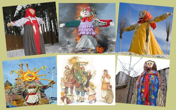 How to make a scarecrow on Shrovetide with your own hands
