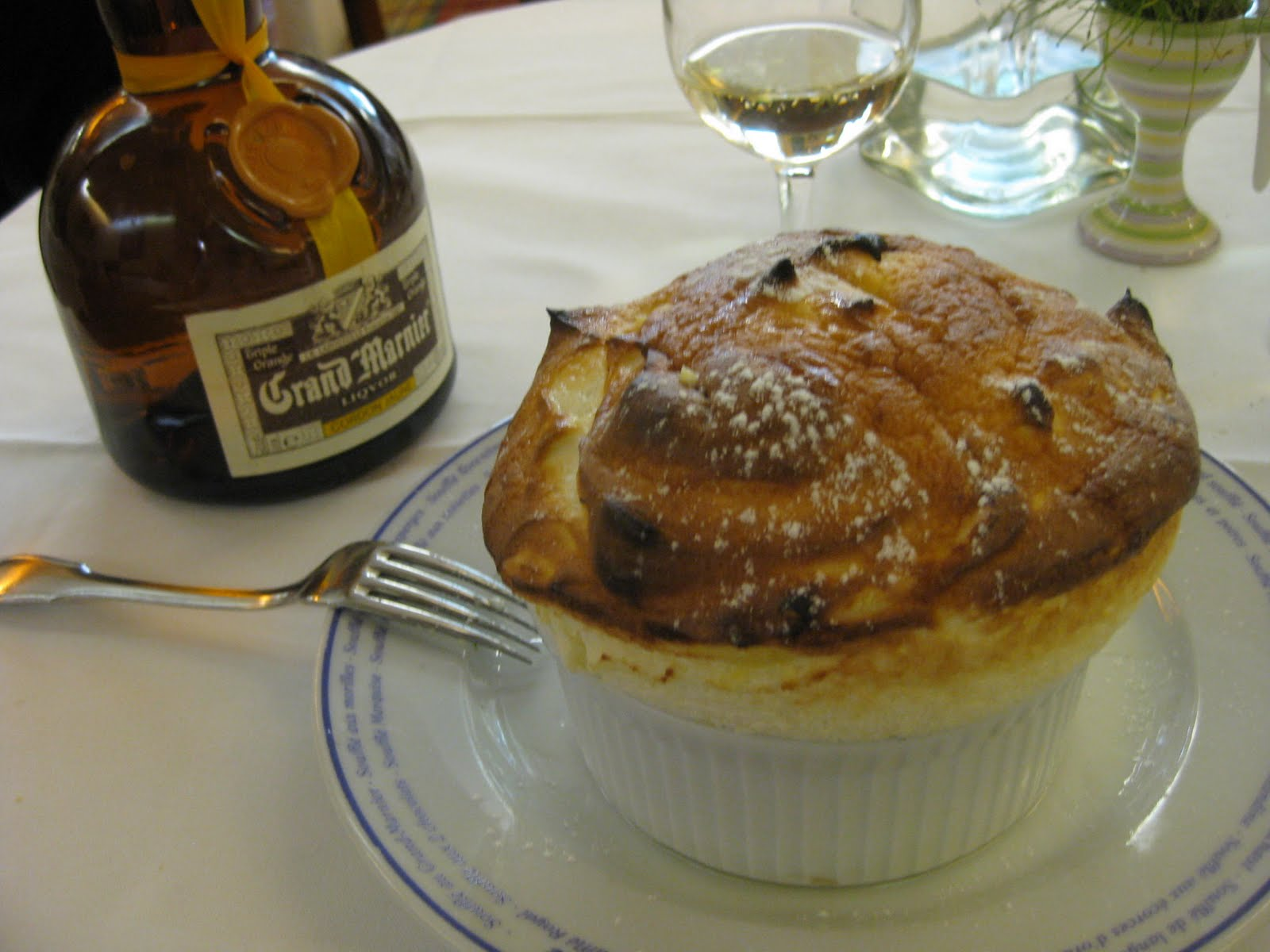 ... ~ From the dangerous kitchen of Tré Taylor : Grand Marnier Souffle