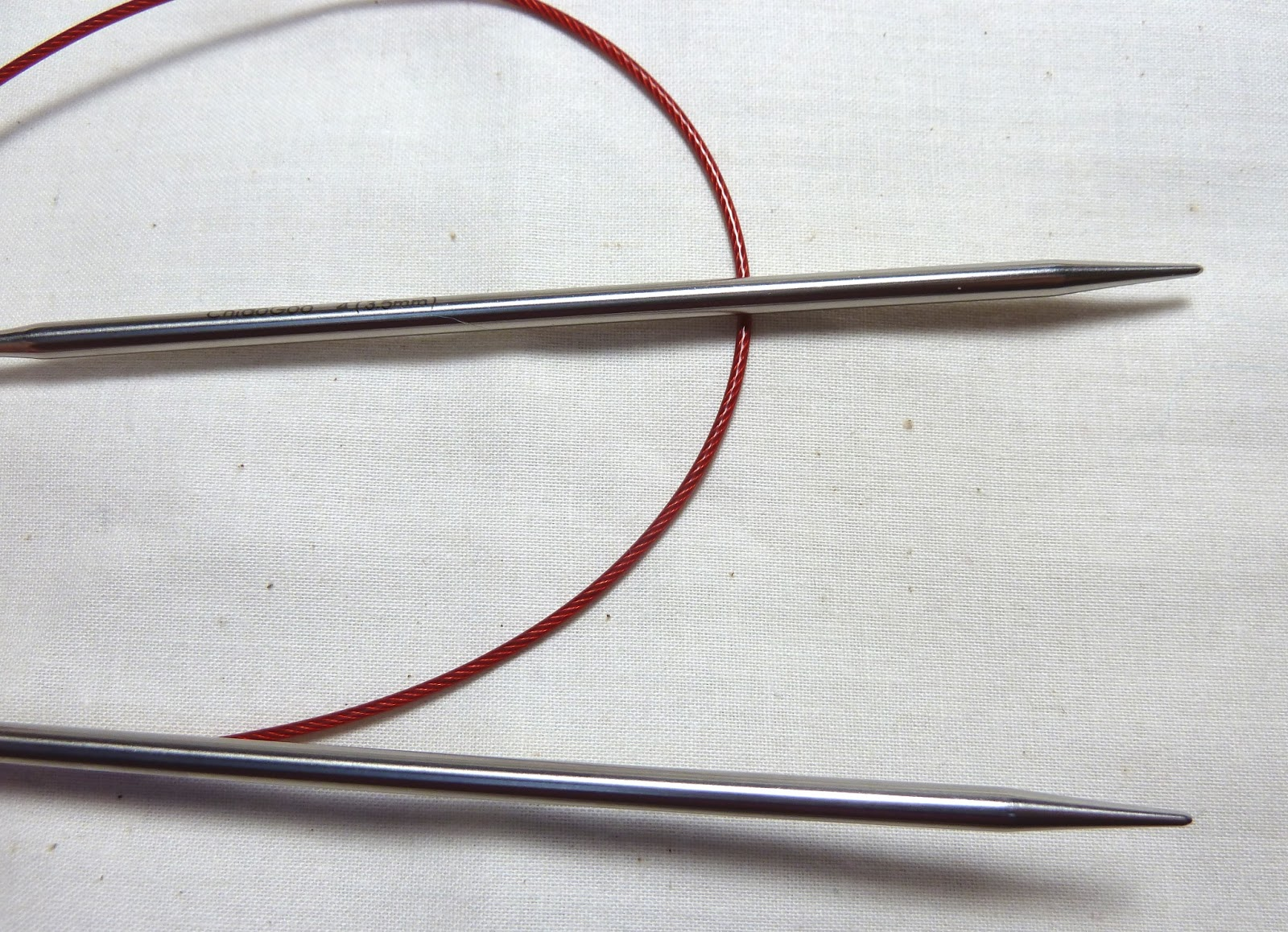 Knitting Needles Not Long Enough : Circular knitting needle comparison
