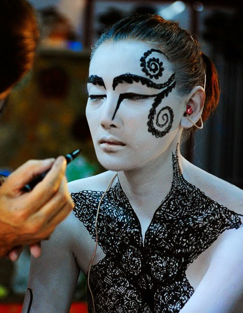 International Body Painting Competition 2014