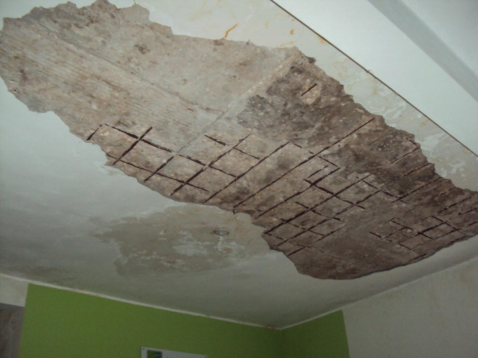Cae en la sala de espera gran pedaso de concreto del techo for Techos de concreto para casas