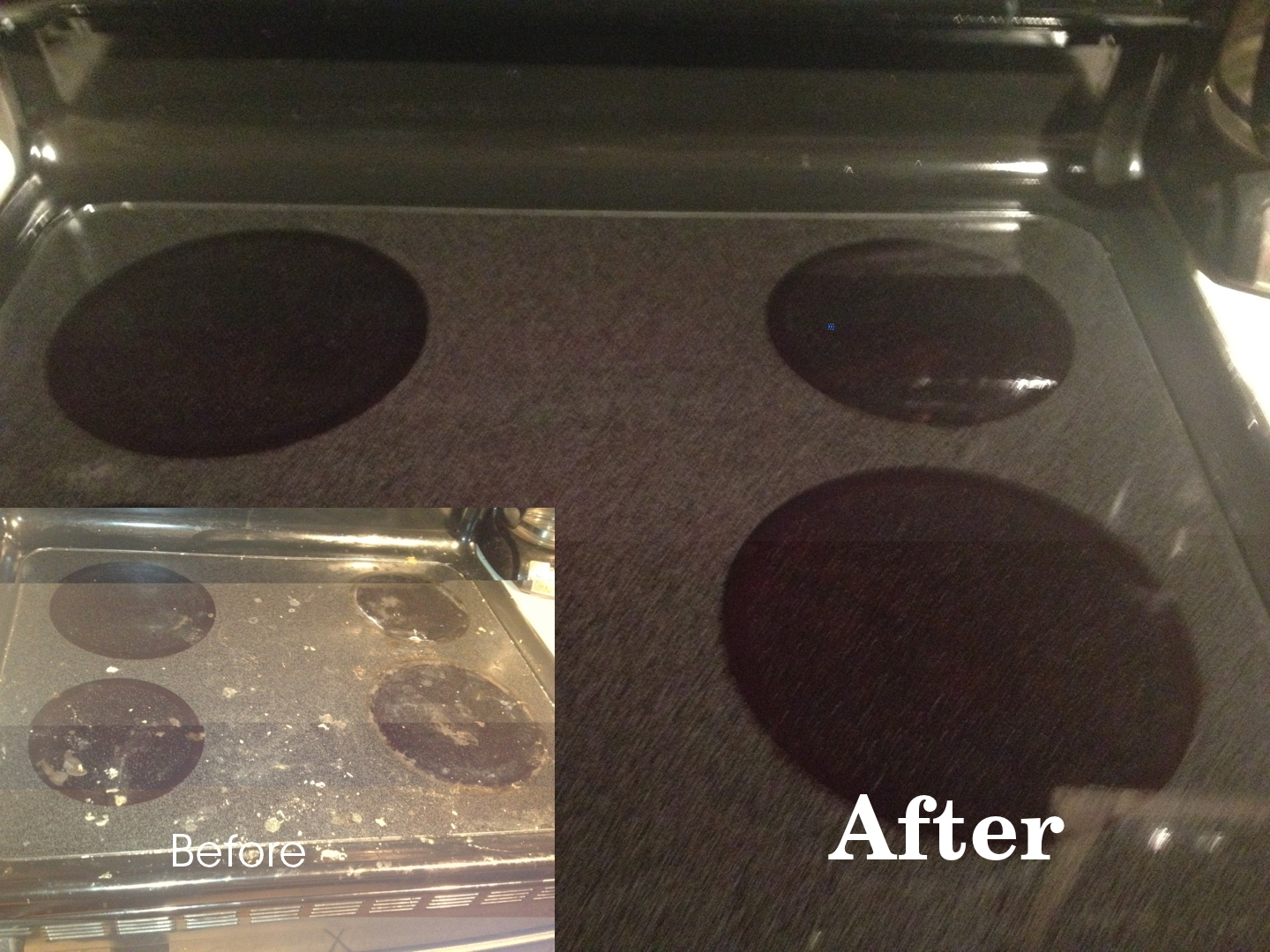 Homemaking Challenged Cleaning A Glass Top Stove