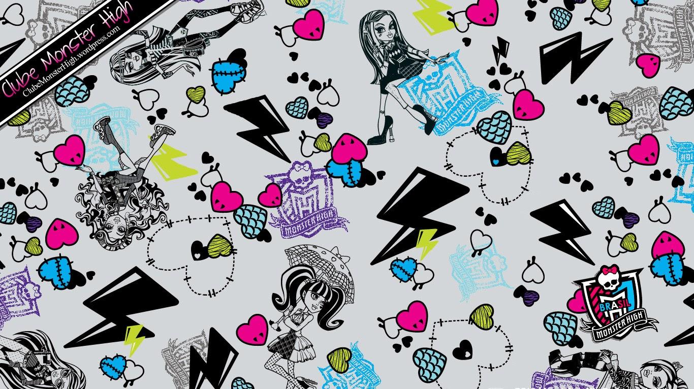 Papel de parede Monster High ,Wallpapers Monster High  CANTINHO ENCANTADO