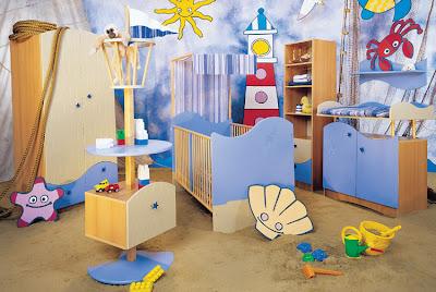 Dormitorios tem ticos para beb s dormitorios con estilo - Dormitorios infantiles tematicos ...