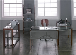 Modern Glass Office Furniture
