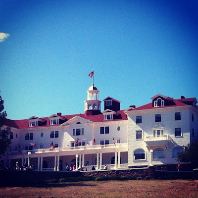 The Haunted Stanley Hotel in Estes Park, Colorado #ColorfulColorado #Colorado www.thebrighterwriter.blogspot.com
