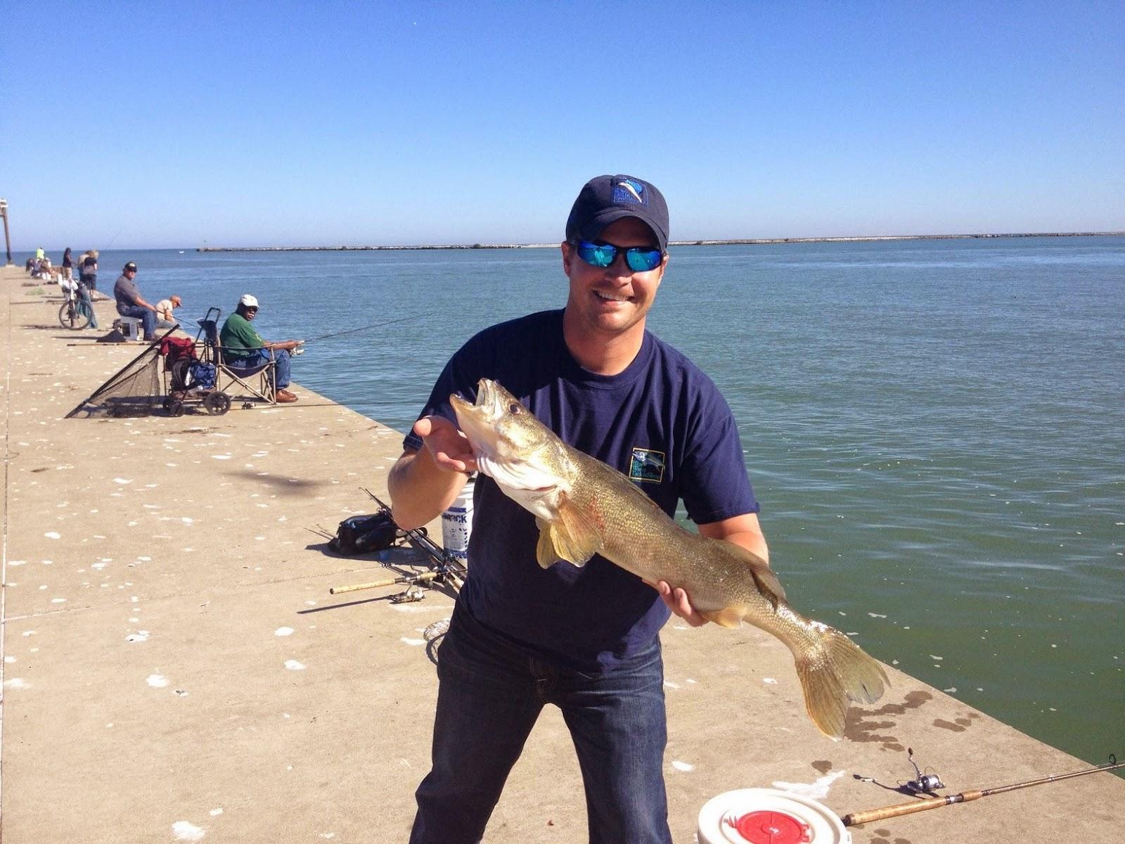 Lake metroparks fishing report still waiting for steelhead for Fishing report lake erie