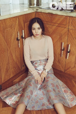 Min Hyo Rin - One Magazine January Issue 2016