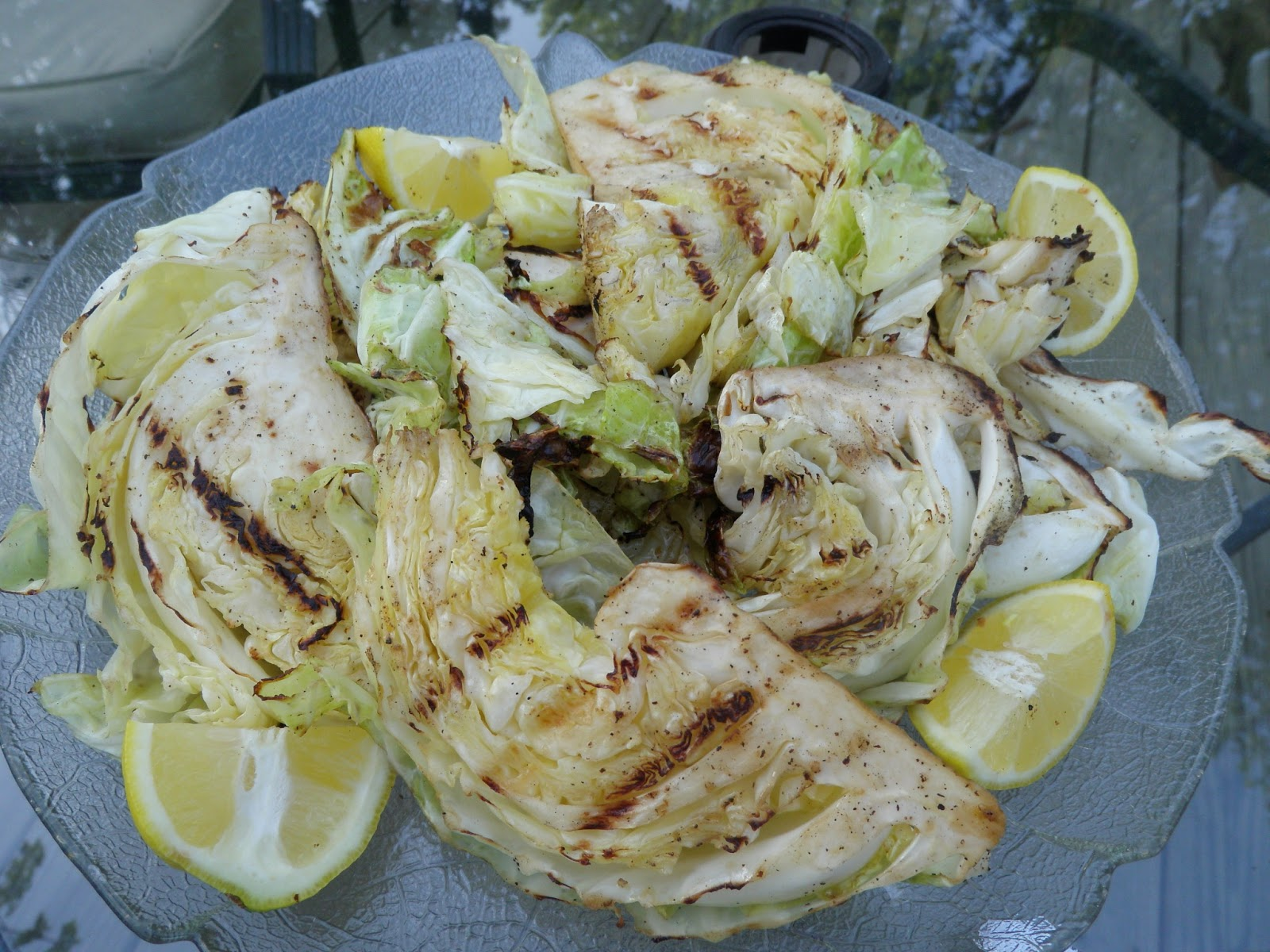 Green Dreams Detroit: Simple Summer Side: Grilled Cabbage