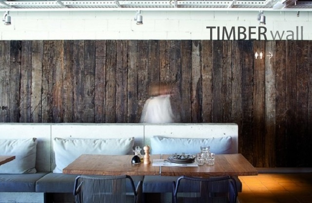 INTERIORS | JUST ONE TIMBER WALL