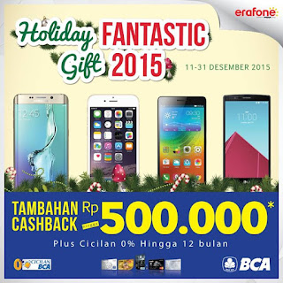 Holiday Fantastic Gift 2015 di Erafone