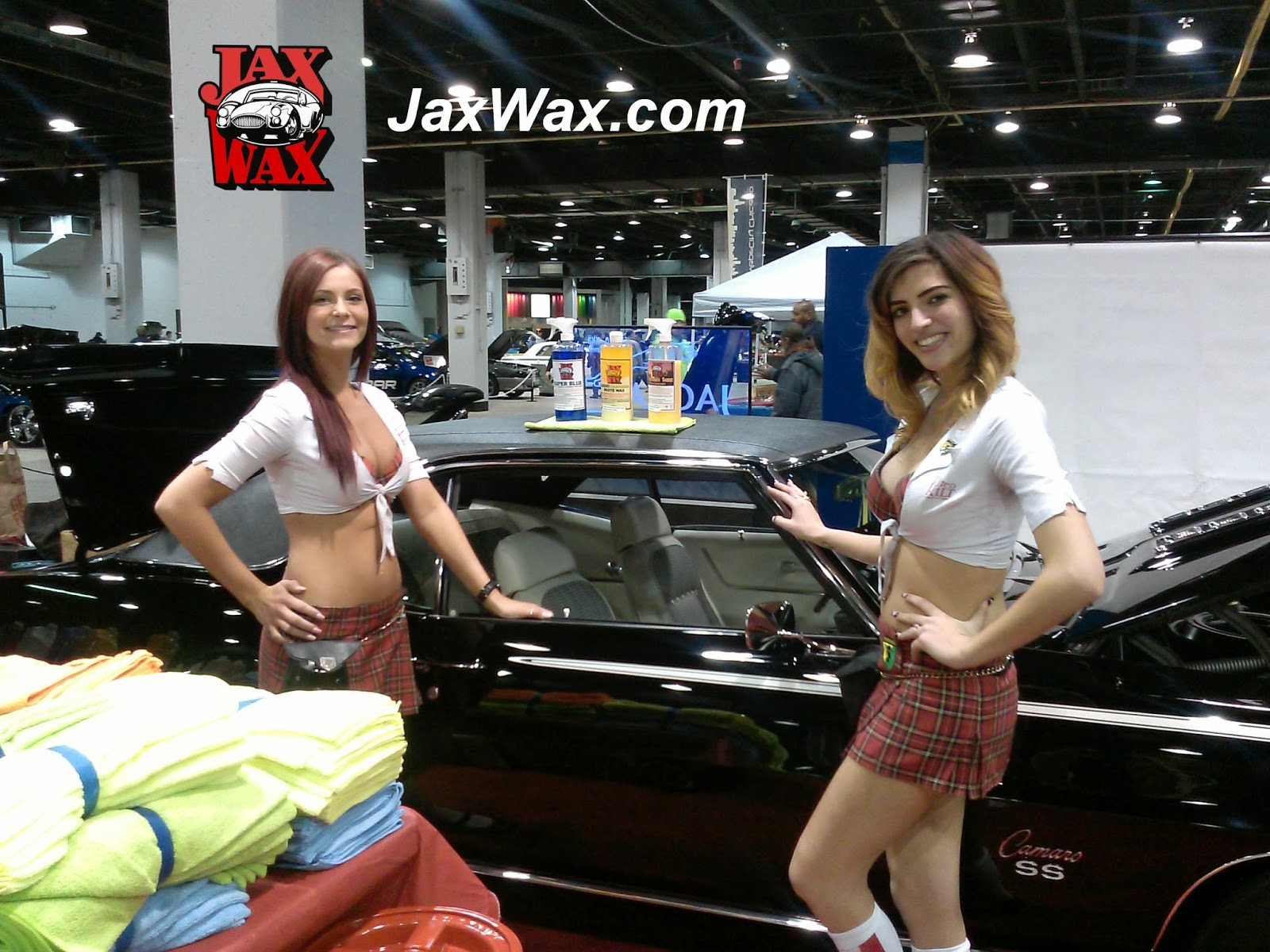 Jax Wax Display Chicago World of Wheels 2014