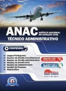 Comprar livro ANAC Técnico Administrativo