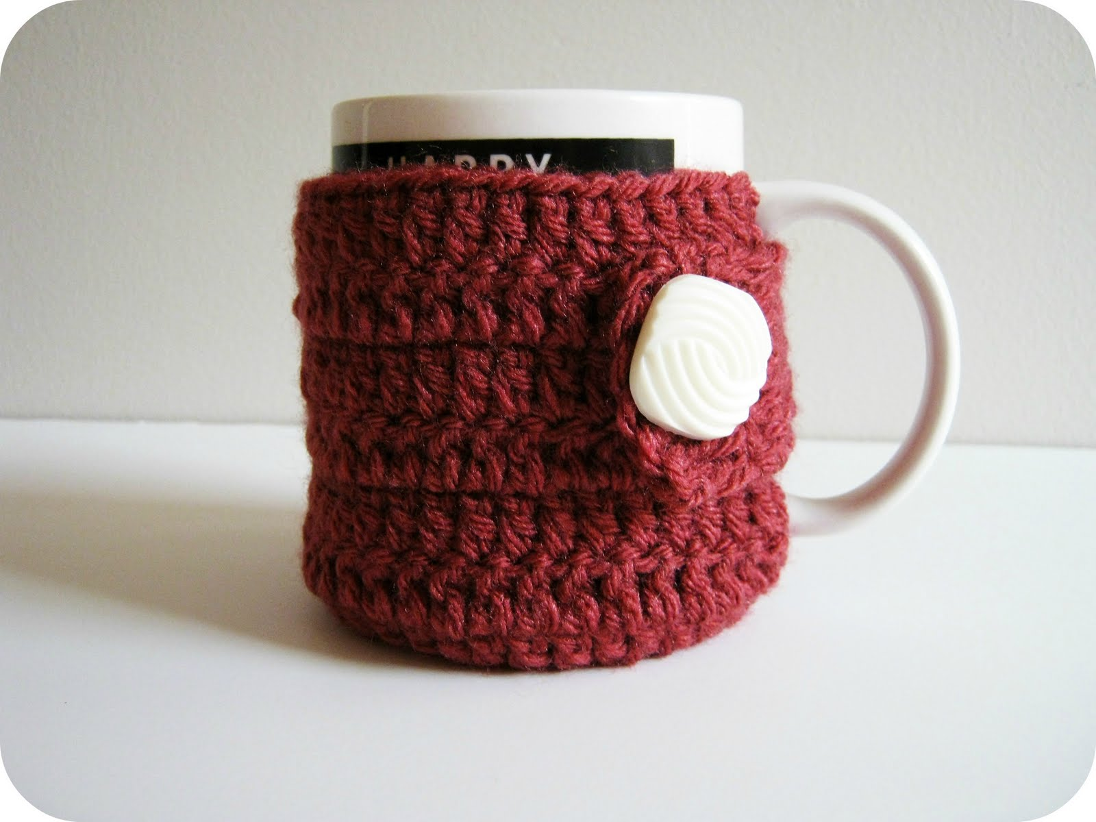 "Pattern ""Marion's cozy mug warmer"" «"