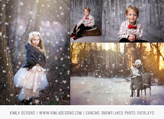 http://kimladesigns.com/collections/christmas/products/dancing-snowflakes-photo-overlays