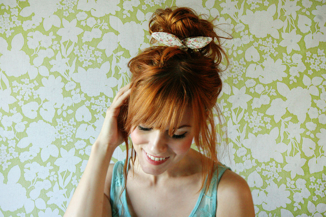 Bow Wire Hair Tie