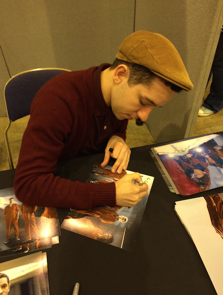 celebrity signings nathan mcmullen misfits doctor who