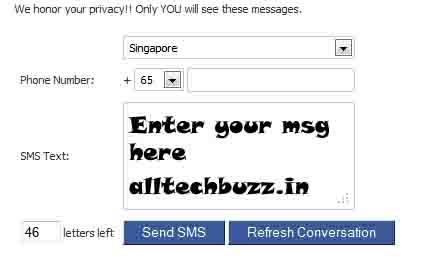 Send+sms+from+facebook