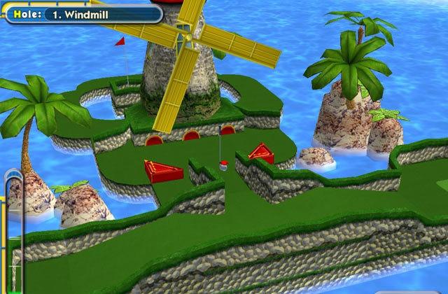 Mini-Golf Pro cenarios 3D