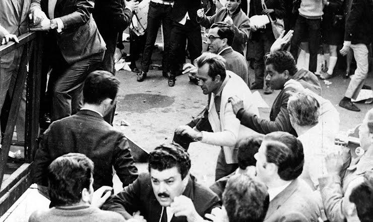 Primeiro de maio de 1968 na Praça da Sé