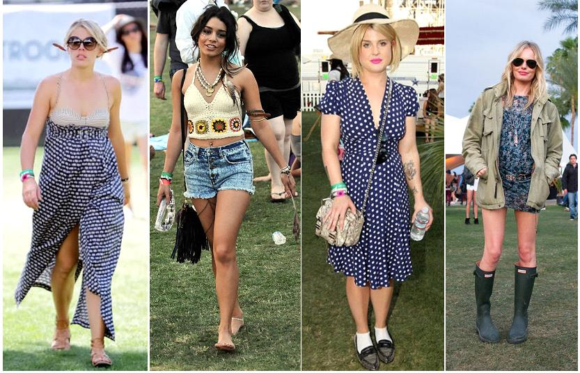 ... Emma Roberts all wearing celebrity-specific fashion at Coachella 2012