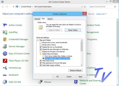 Cara Menampilkan File Tersembunyi (Show Hide) Pada Windows 10 2