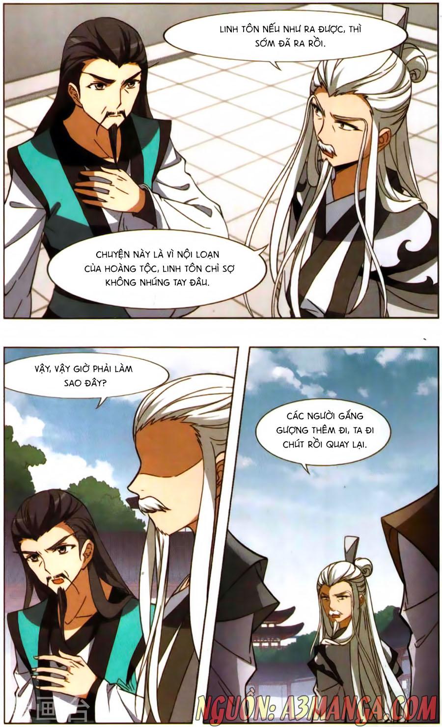 Phượng Nghịch Thiên Hạ Chap 171.5 page 5