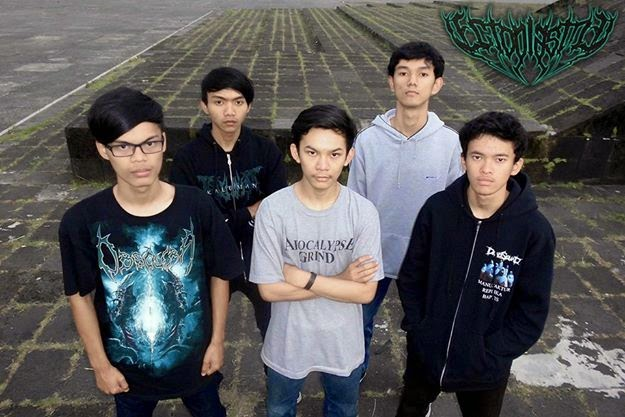 Ectoplasma Band Technical Death Metal Bandung foto wallpaper