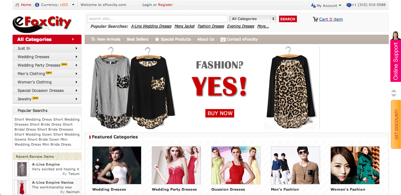 Online Shopping Clothing Cheap