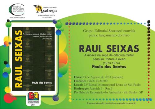 Livro sobre Raul Seixas