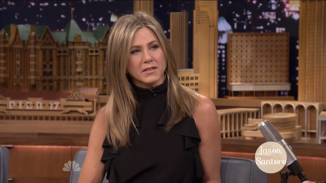 Jennifer Aniston stops by the Jimmy Fallon Show