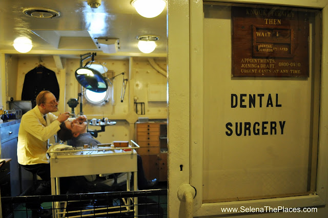 Dental Surgery aboard HMS Belfast