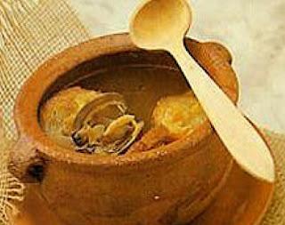 Receta Sopa de Almejas y Ajos