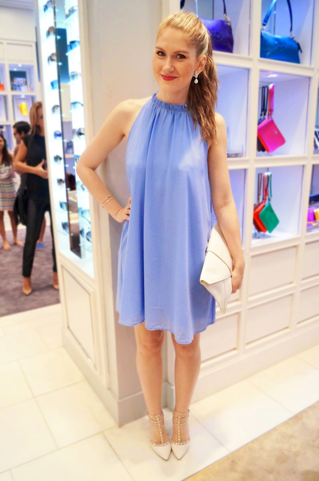 Comfy Periwinkle dress from Forever21