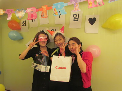 Yakson Hosue Staff Birthday Party – Daegu Branch News