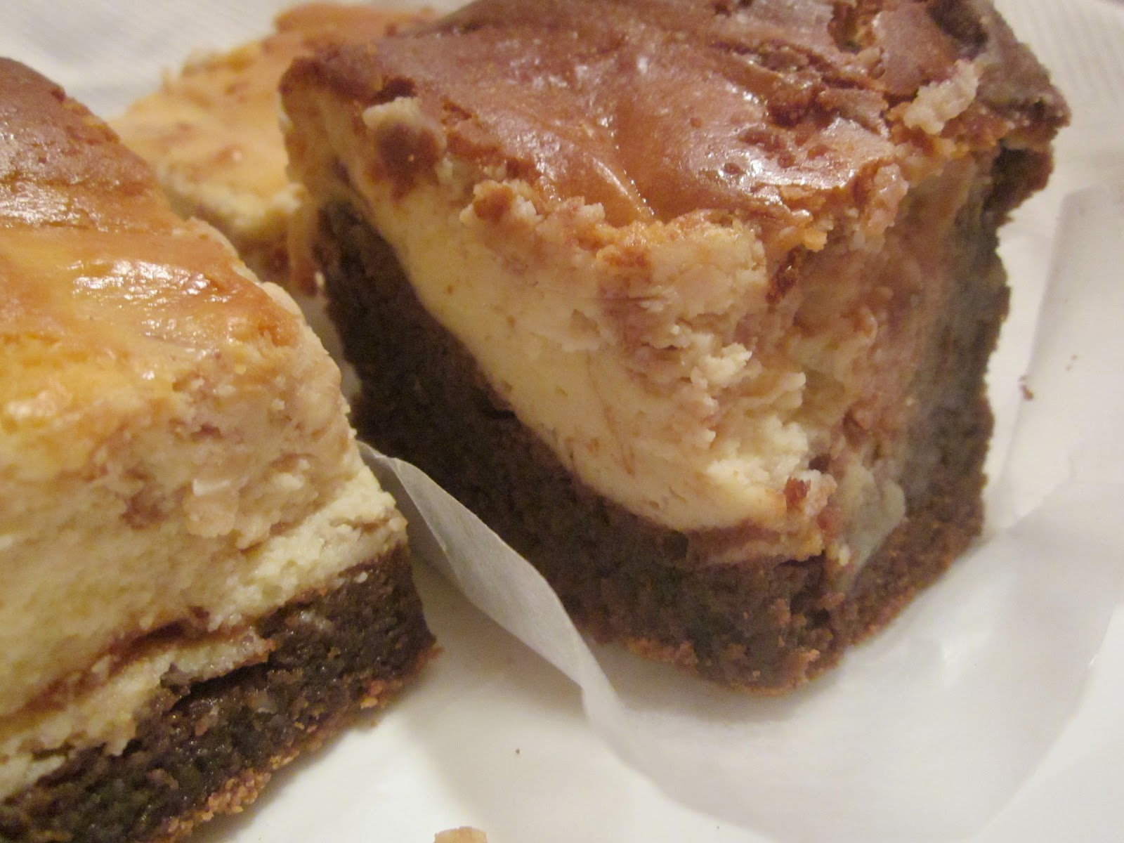 Hungry Couple: Heavenly Cheesecake Brownies