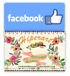 Curta Hiperart  no Face